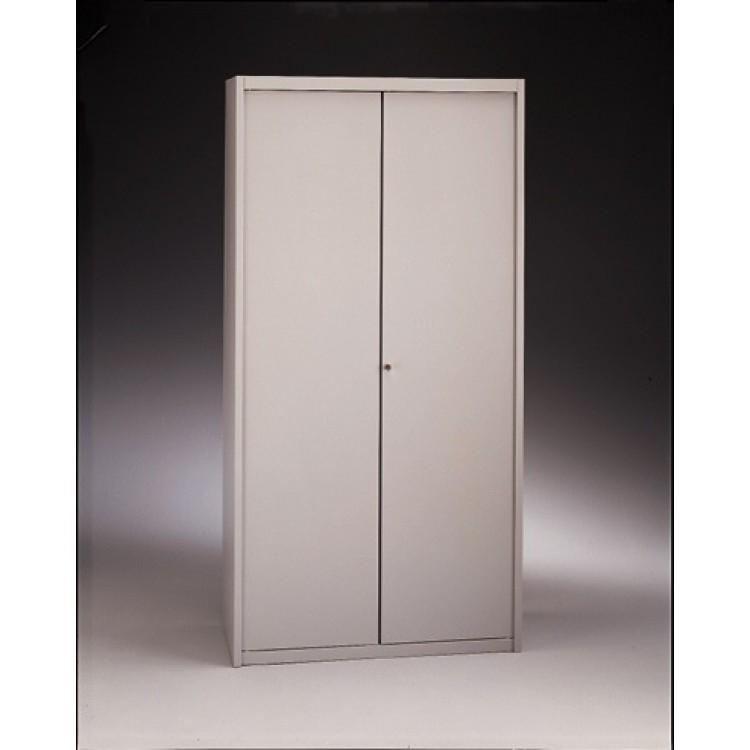 Armadio metallico ante battenti con serratura 120x45x200h for Armadio ufficio con chiave
